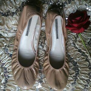 Vera Wang Lavender Ballet Flats Shoes